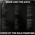 Kings of the Wild Frontier Hong Kong label