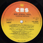 Bop, Stroll, Roll label