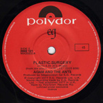 Plastic Surgery Polydor label