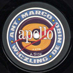 Apollo 9 label