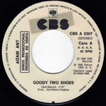 Goody Two Shoes white label