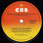 Kings of the Wild Frontier label