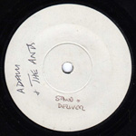 Stand and Deliver test pressing