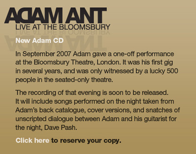 Live at the Bloomsbury