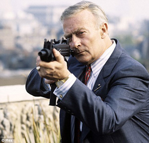 Edward Woodward as Robert McCall, The Equalizer